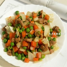 小炒什锦菜