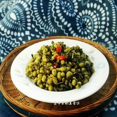 小炒毛豆雪菜