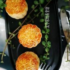 东北老式豆沙月饼