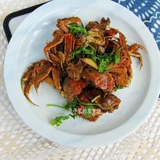 秋季最肥香辣蟹