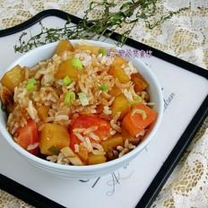 土豆番茄焖米饭