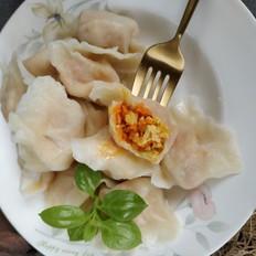 胡萝卜鸡蛋饺子
