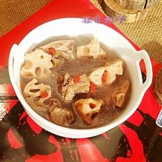 莲藕脊骨汤