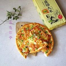 大米饭奶酪披萨