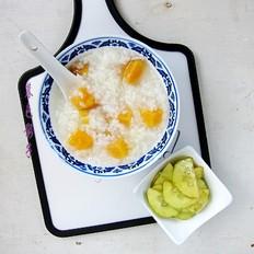 檽米红薯粥