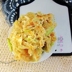 芹菜土豆丝饼