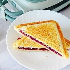 紫薯三明治