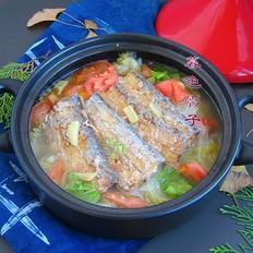 白菜焖带鱼