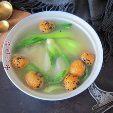 山药油菜汤