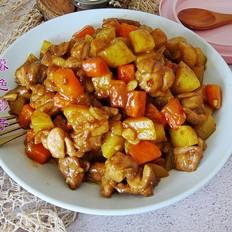 咖喱胡萝卜鸡块