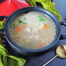 养胃驱寒汤的做法