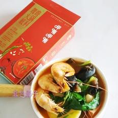 番茄火锅的做法