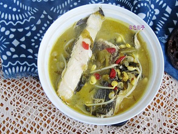 黄豆芽酸菜鱼