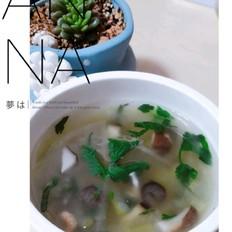 三鲜海参汤