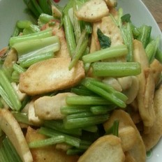 芹菜炒豆腐干