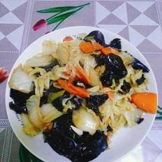 木耳白菜片
