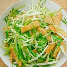 蒜苗豆腐干