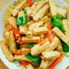 爆炒豆腐干
