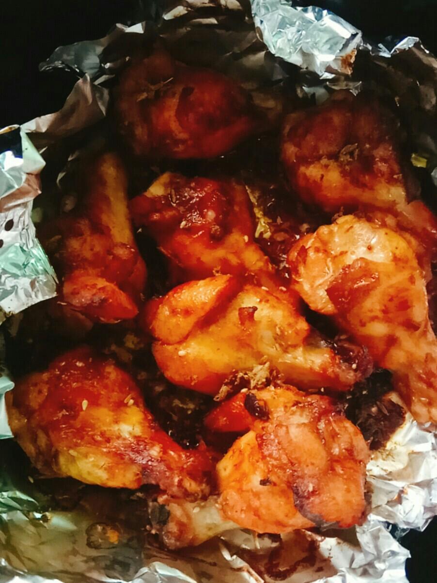 烤鸡翅根(空气炸锅版)