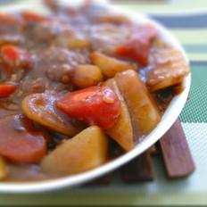 肉沬咖喱土豆
