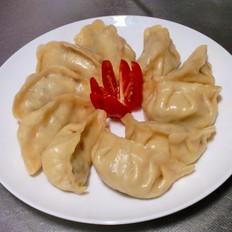 三文鱼蒸饺