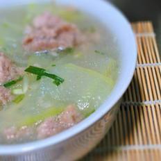 冬瓜肉片汤