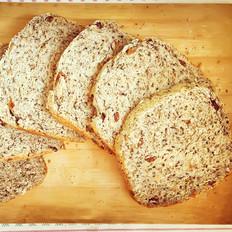 健康全麦无糖杂粮面包