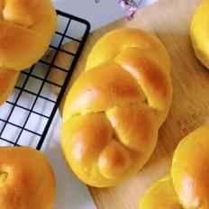 南瓜麻花面包
