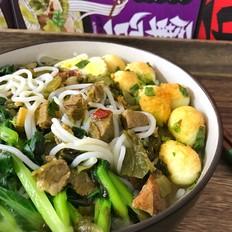 酸菜牛肉粉
