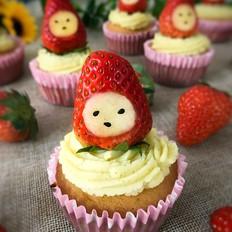小红帽杯子蛋糕