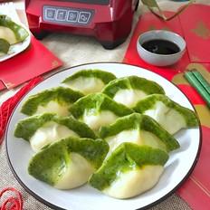 翡翠饺子的做法