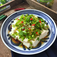 酸黄瓜拌豆腐