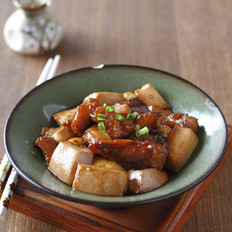 比目鱼炖豆腐