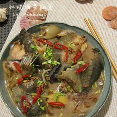 红烧海参斑鱼