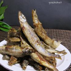 香煎多春鱼