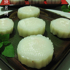 虾仁水晶月饼
