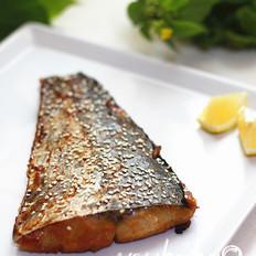 赤味噌烤鲅鱼