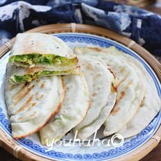 西葫芦蛤蜊合饼