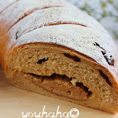红糖黑麦乳酪面包