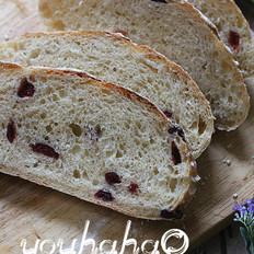 蔓越莓软欧面包