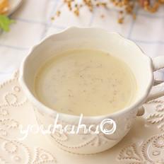 玉米亚麻籽豆浆