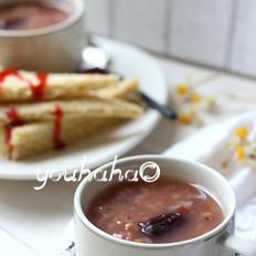 红粳米杂粮粥
