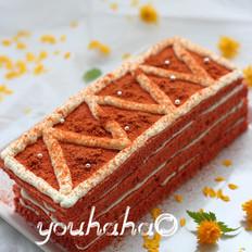 红丝绒千层蛋糕