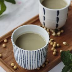 茉莉绿茶豆浆
