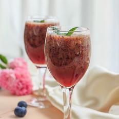 苹果蓝莓汁