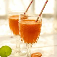 胡萝卜苹果橙汁