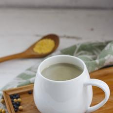 黄米黑豆豆浆