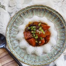 香菇胡萝卜盖浇饭