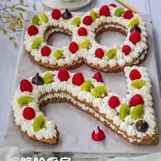 数字生日蛋糕