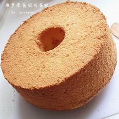 菠萝果酱戚风蛋糕